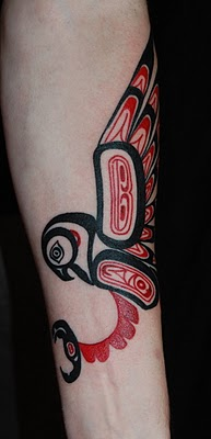 jeb maykut flyrite tattoo tribal native american haida style bird tattoo. Black Bedroom Furniture Sets. Home Design Ideas