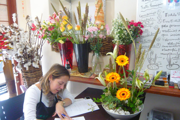 Curso de Arte Floral , Sede- SP