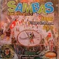 foto da capa do cd sambas de enredo 2006 grupo de acesso