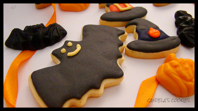 Galletas decoradas para halloween