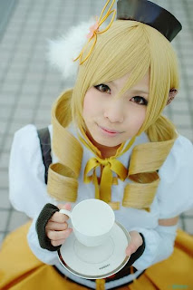 Uri Cosplay as Tomoe Mami from Puella Magi Madoka Magica