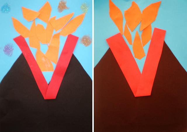 Colaj - Vulcanul Vezuviu