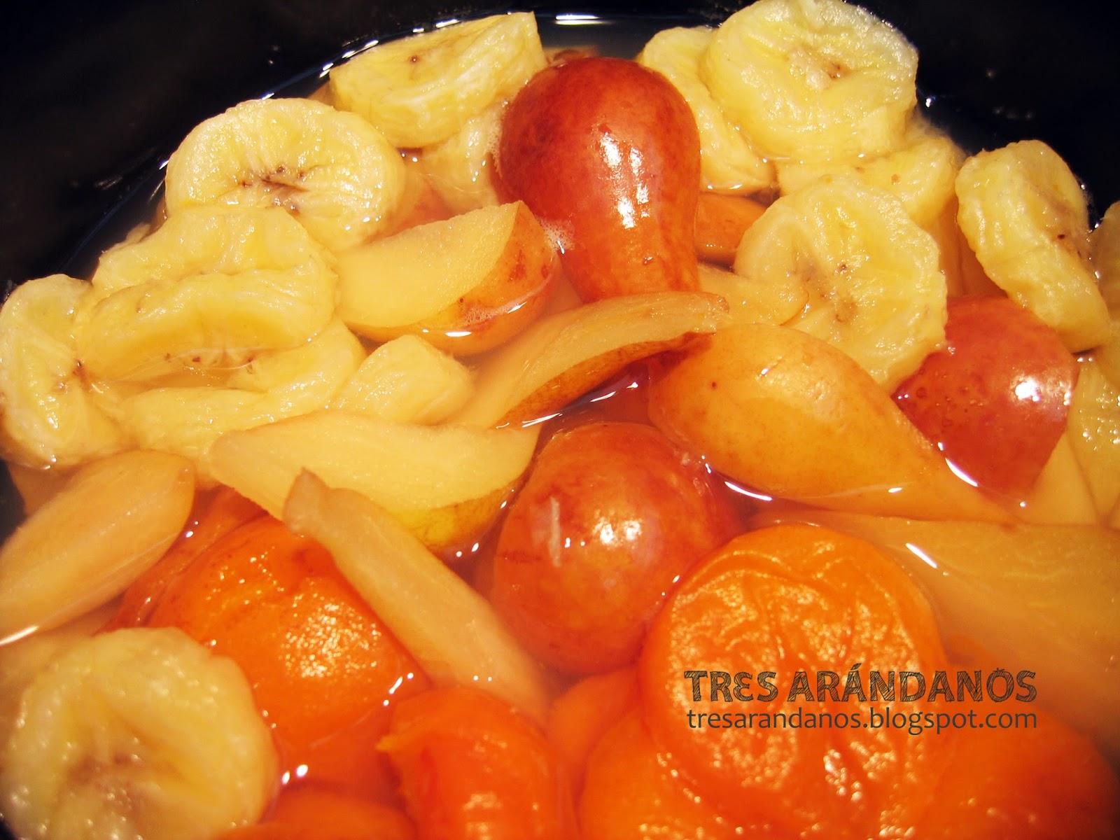 Cómo hacer papilla de frutas