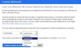 cambiar hotmail a outlook