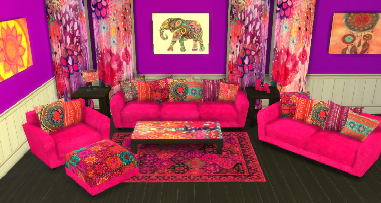 My Sims 4 Blog: Bohemian Hydrogen Set Recolors by ...
