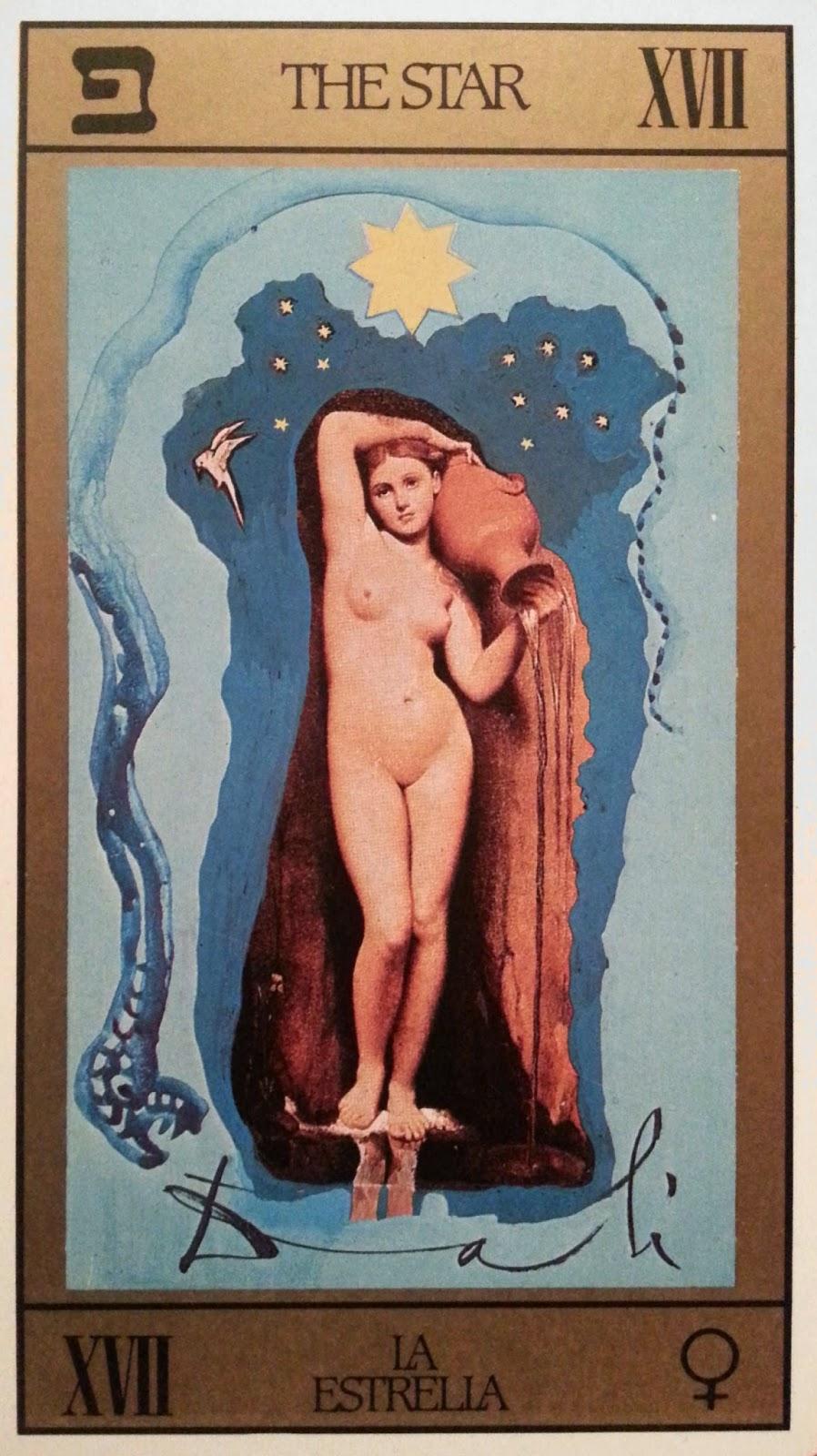 La Estrella- Tarot Dalí