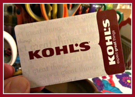 kohls $25 gift card