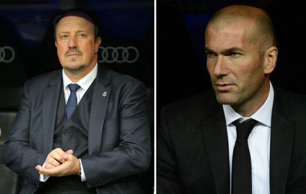 Le président du Real, Florentino Pérez, a officialisé lundi 4 janvier la nomination de Zinédine Zidane comme nouvel entraîneur du club, en remplacement de Rafael Benitez. Premier match : samedi 9 janvier contre le Deportivo.