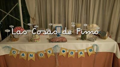 Guirnalda para Candy Bar Bonita