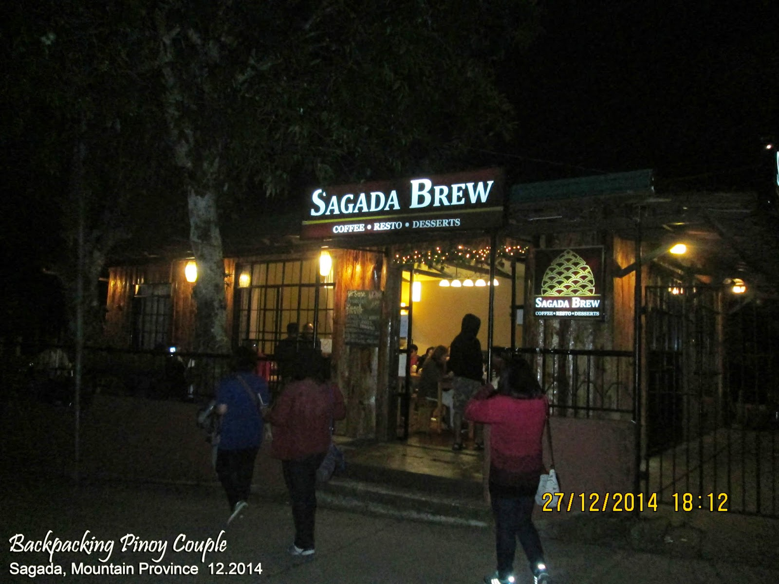 Backpacking Pinoy Couple, Sagada, Mountain Province, Philippines, Sagada Brew