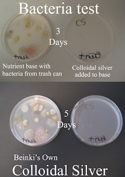 Colloidal Silver Kills Bacteria