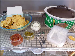 nacho station set-up