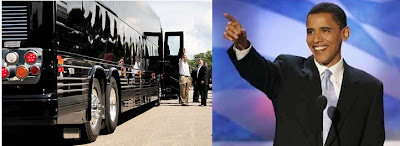 Obama's Trip on $1.1 million Bus