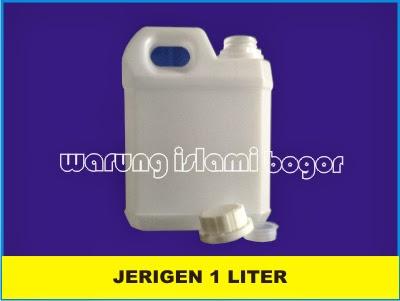 Jual Jerigen 1 Liter Pendek