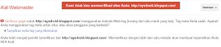 google webmaster tools delete site