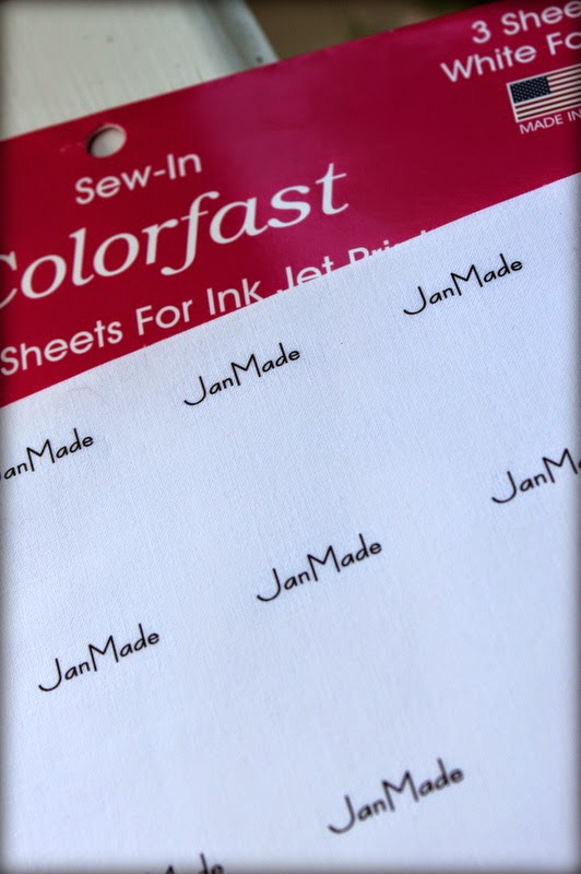 June Tailor fabric labels