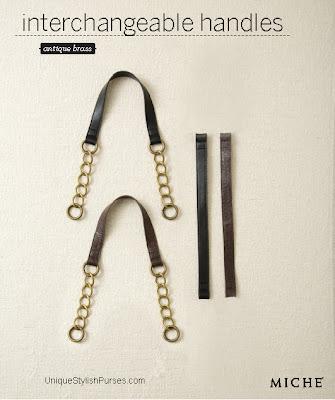 Antique Brass Chain Handles