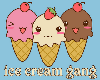 Navegando por la red lo encontr    Ice cream kawaii