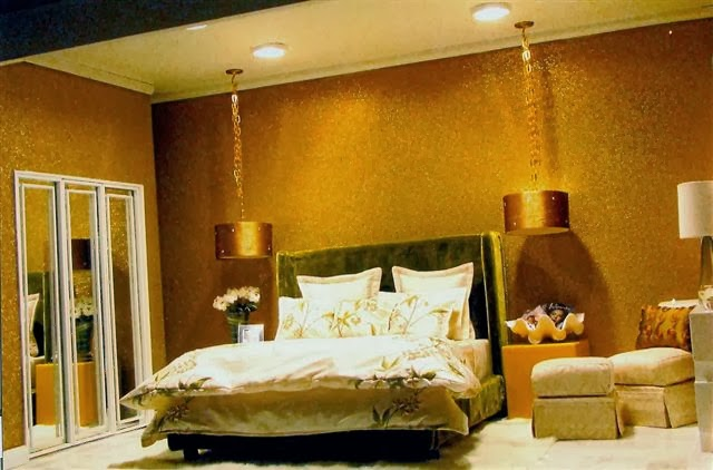 Metallic Bedroom