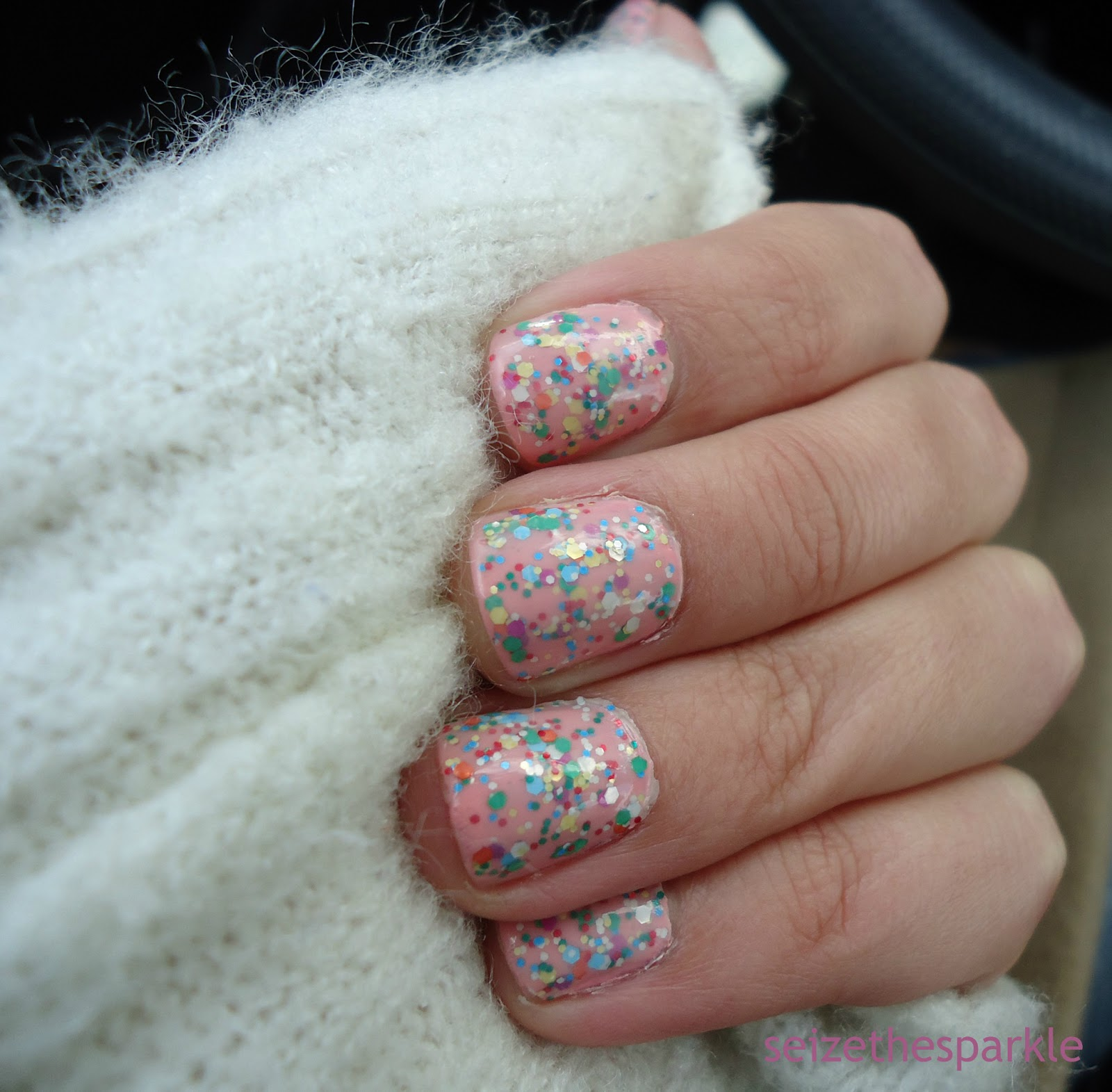 Orly Cotton Candy Glitter Sandwich