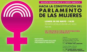 Parlamento de las Mujeres 28/5