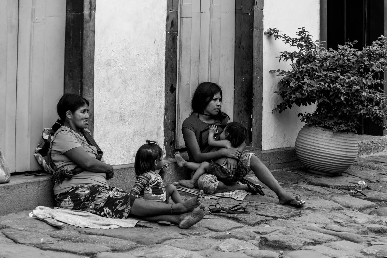 Família indígena