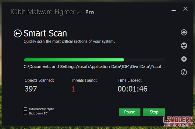 Iobit Malware Fighter Pro 2.1 Full Version (Serial Included)