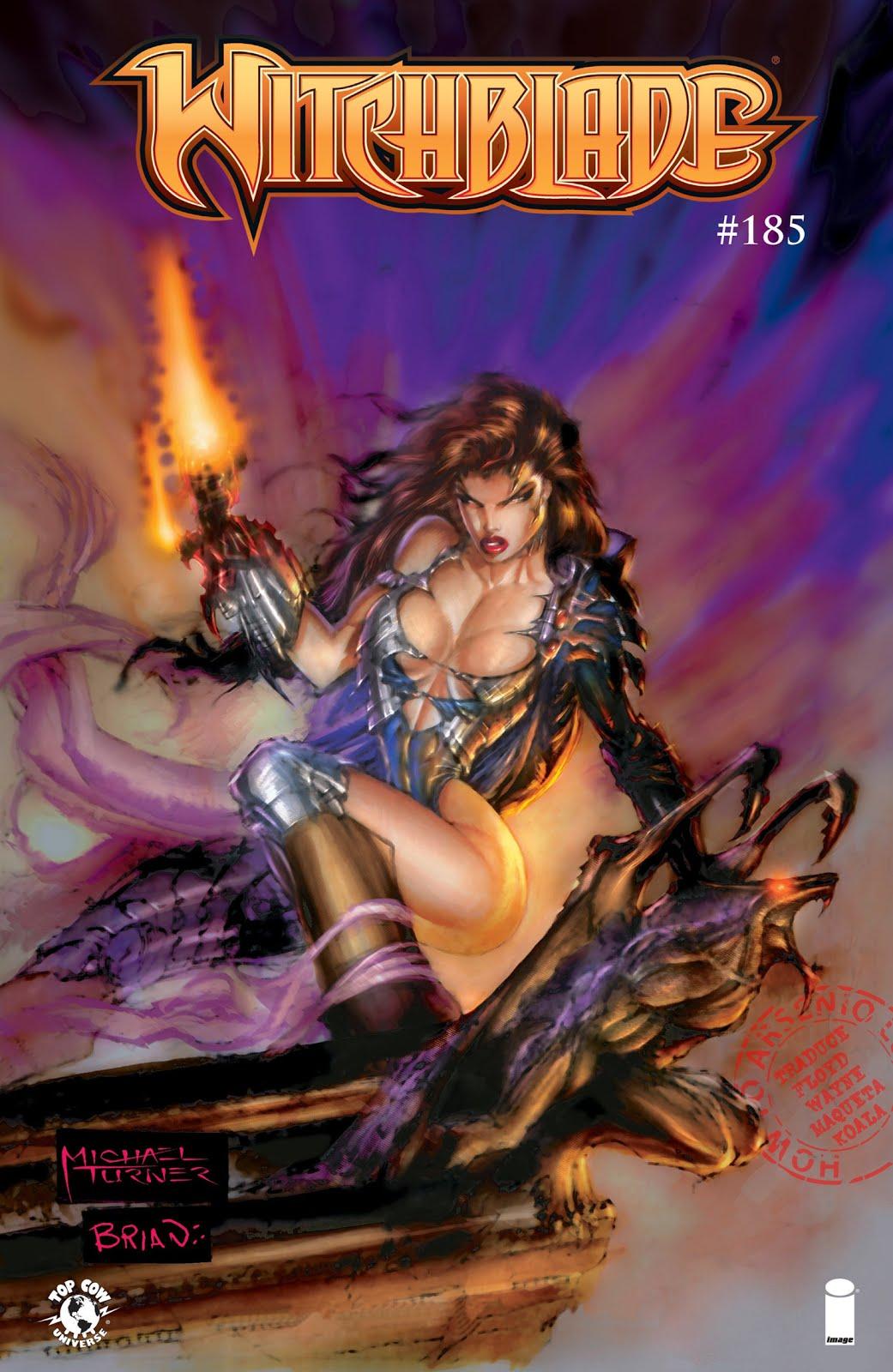 Actualización 18/12/2015: The Witchblade - FloydWayne y K0ala nos traen el numero #185, final de la serie.