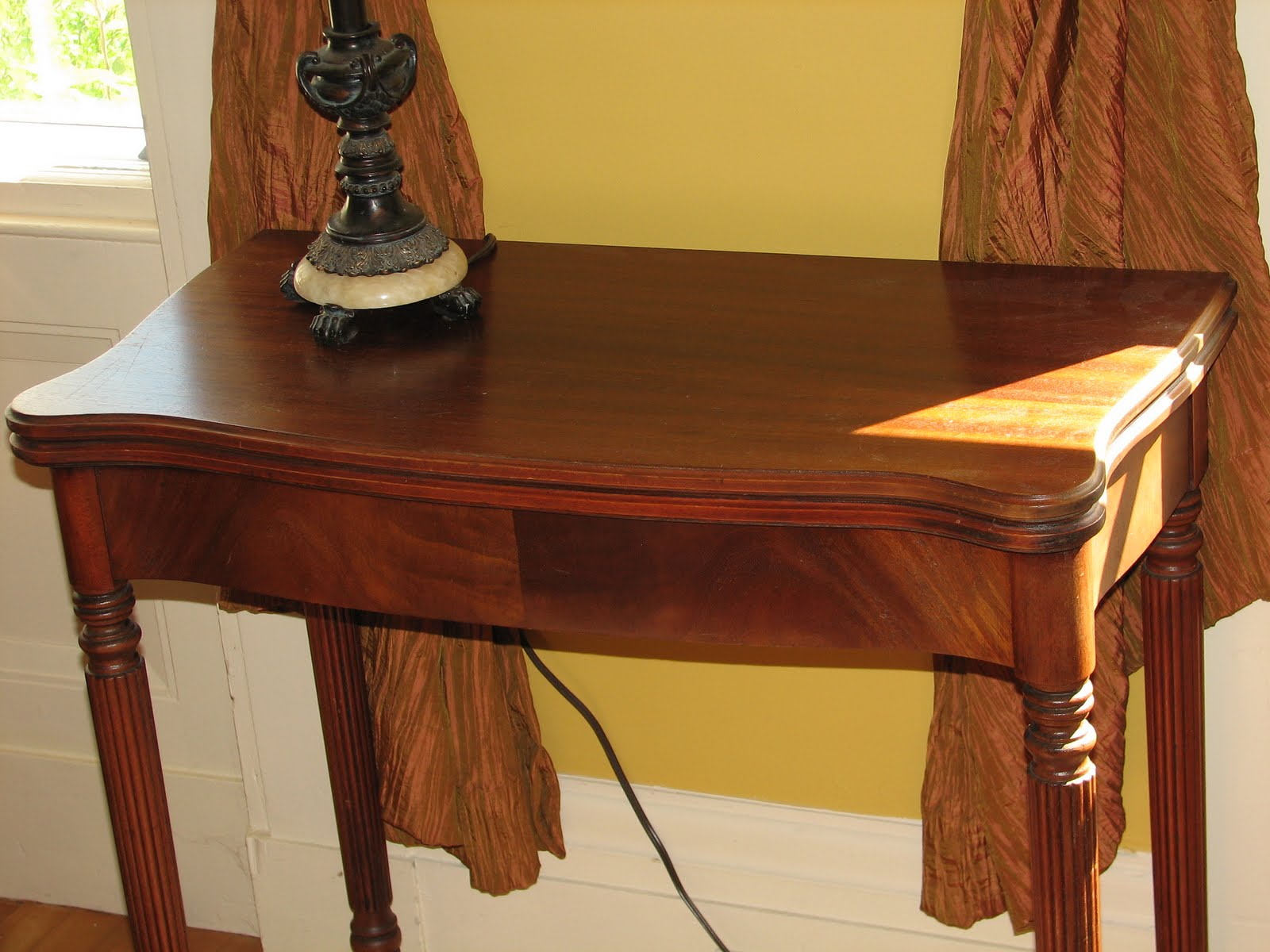 Antique Game Table   $200