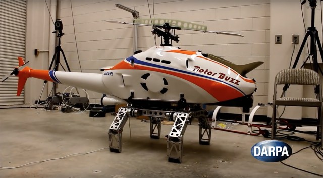 robotic spider leg helicopters