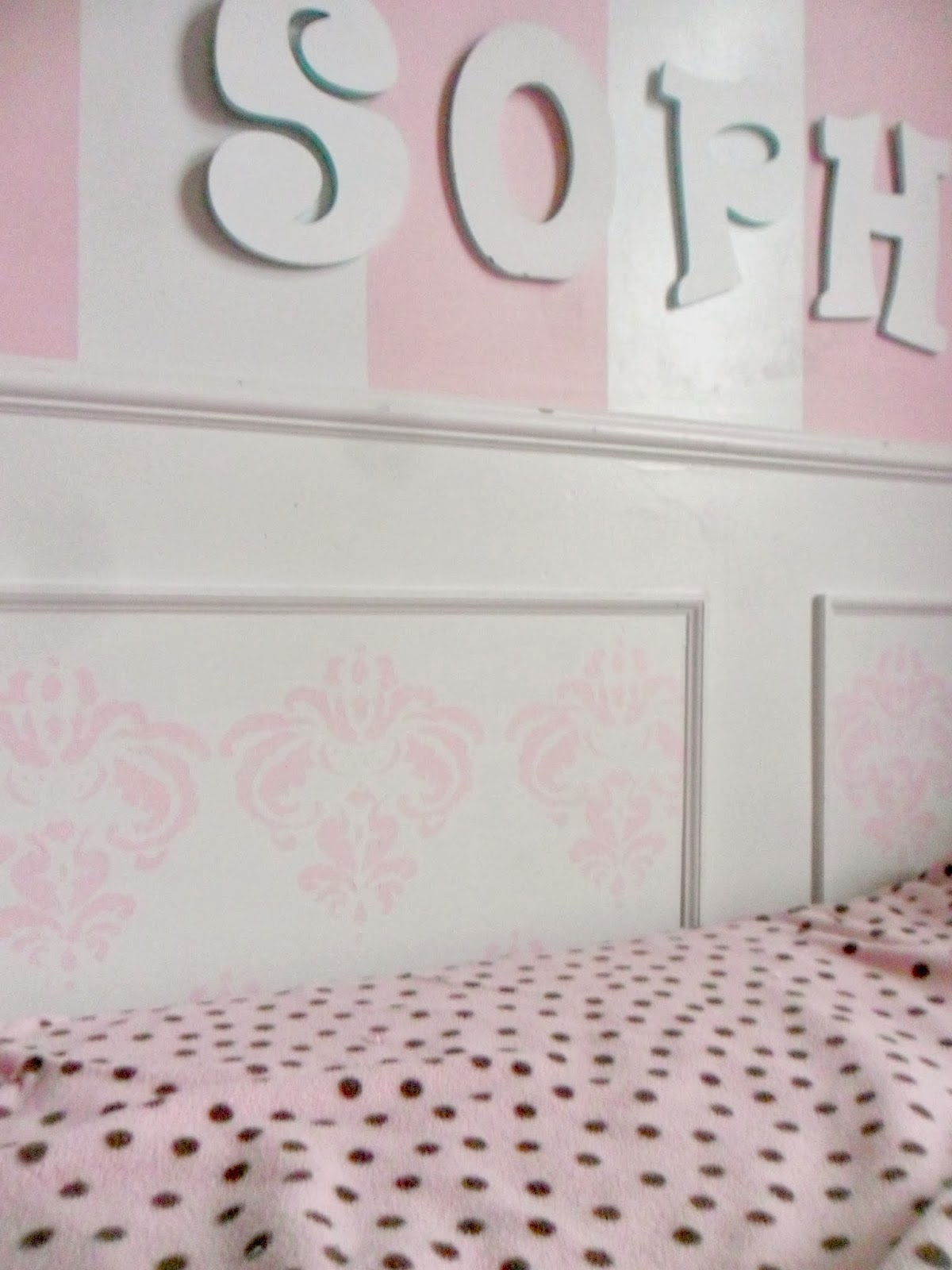 Home heart and hands diy damask stencil for little girls room diy damask stencil for little girls room amipublicfo Images
