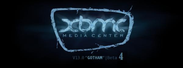 XBMC 13 GOTHAM BETA 4