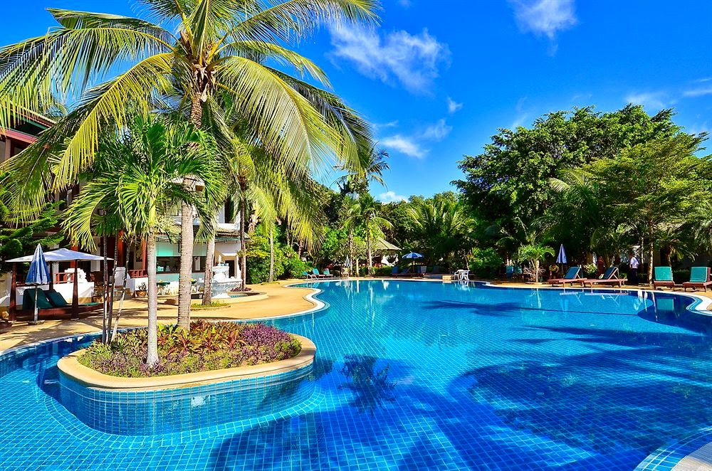 First Bungalow Beach Resort pool