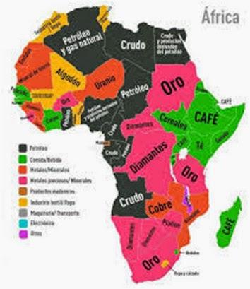 La violencia en África por Russia Today