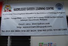 PENUBUHAN PUSAT PEMBELAJARAN KNOWLEDGE GARDEN (KGLC-ERCAM)