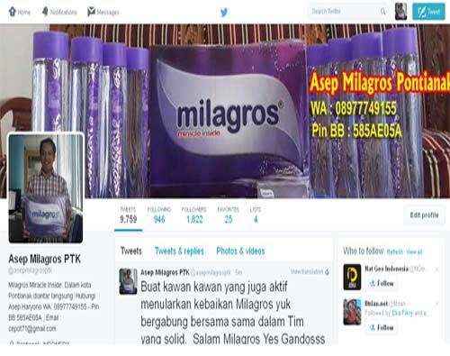 Gambar depan akun twitter saya yang sudah berubah tampilannya