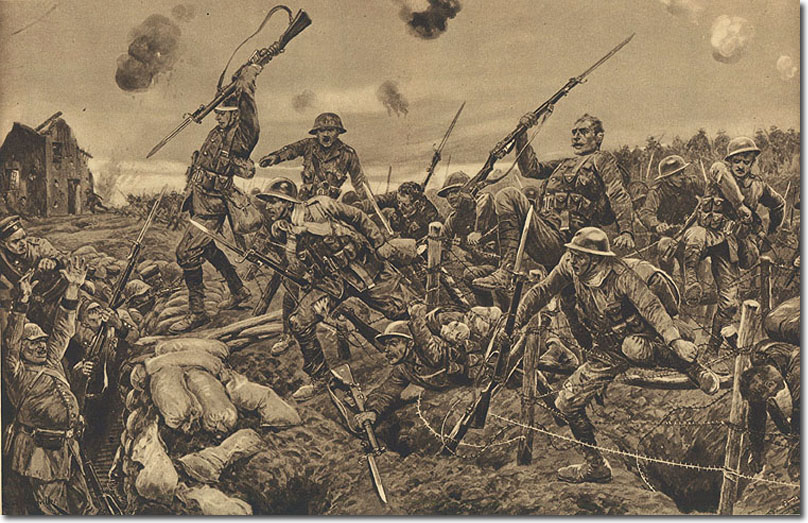 Royal Northumberland Fusiliers at Battle of St. Eloi