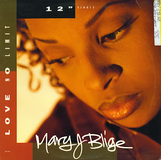 MARY J BLIGE - LOVE NO LIMIT (SINGLE 12'') (1993)