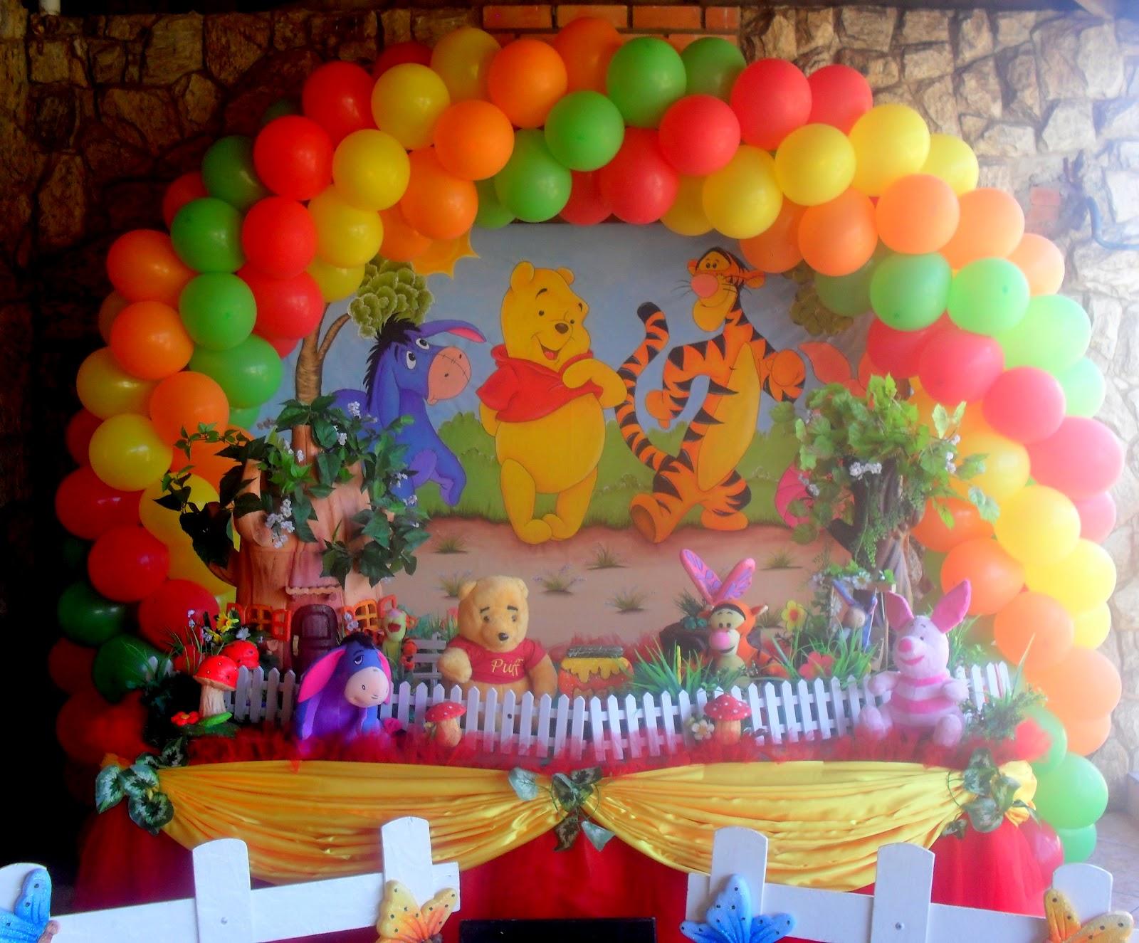 decoracao festa ursinho poohUrsinho Pooh