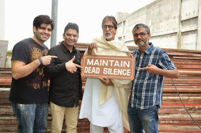 Amitabh Bachchan on the sets of Bhoothnath Returns!