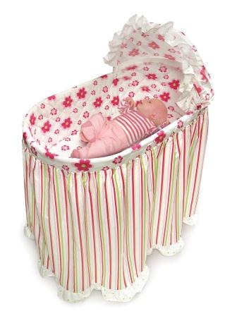 Bassinet Covers For Girls6