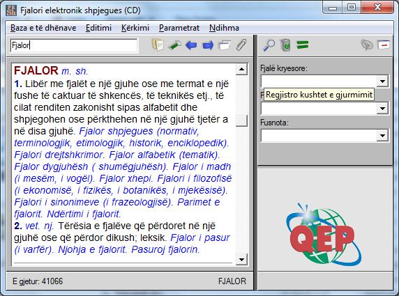 Fjalor Shqip Shqip