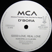 D'Bora – Good Love, Real Love (Promo VLS) (1996)