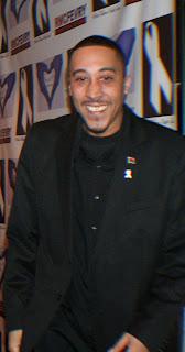 Jamarhl Crawford at White Ribbon Day Gala
