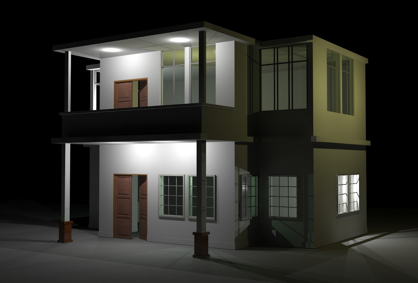 islamic interior exterior design rumah 2 tingkat