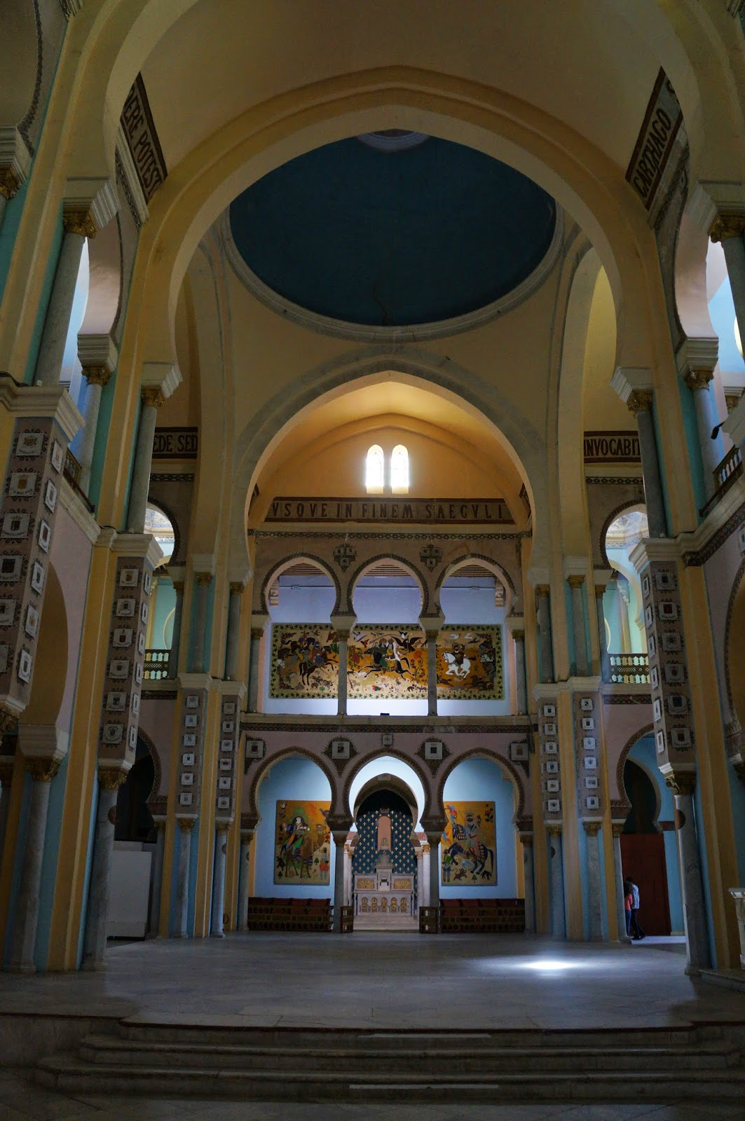 Cathedral in Tunis Tunisia
