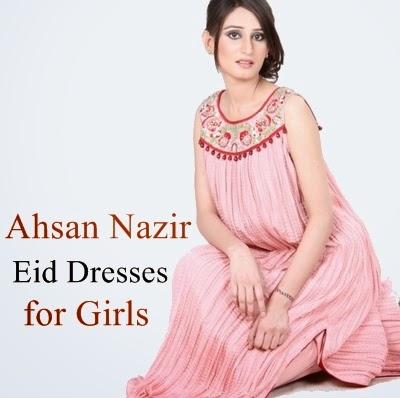 Ahsan Nazir Bridal Eid Collection 2014