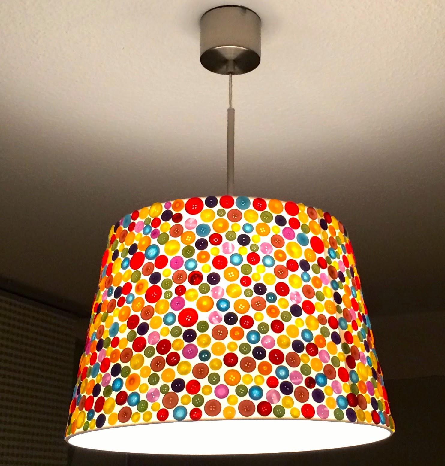 Verknopft Und Zugeklebt   DIY Deckenlampe