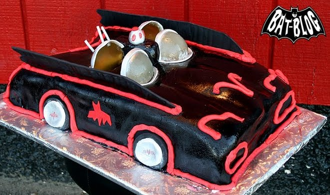 ... Toys Collection Source: Batman Birthday Cake of The 1966 Batmobile Car