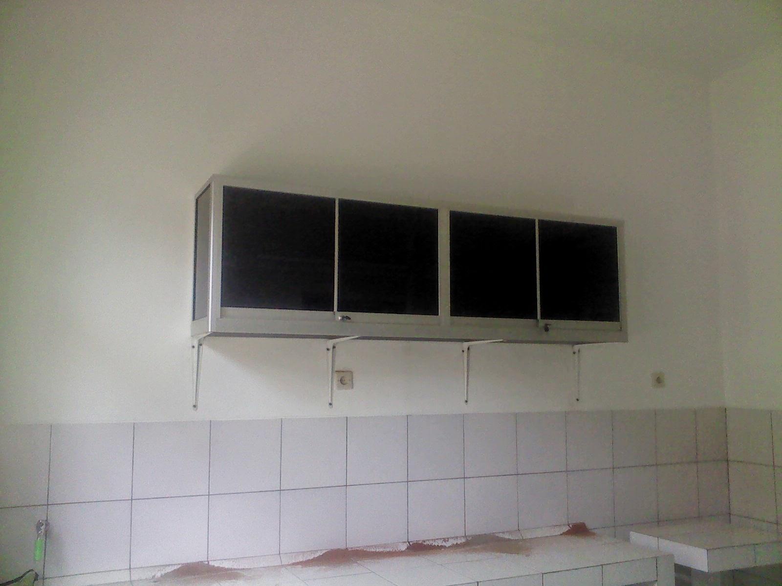 Kitchen set aluminium minimalist art for Lemari kitchen set aluminium
